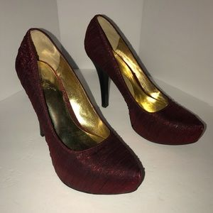 Carlos Santana Red Stilettos